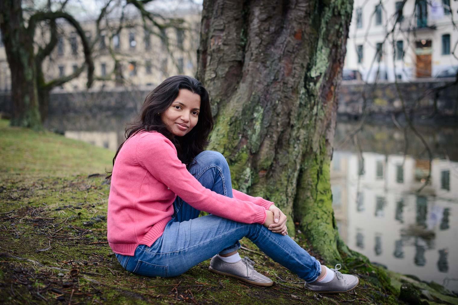 Portrait Session at Trädgårdsföreningen Gothenburg